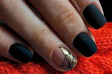 черно-золотой дизайн