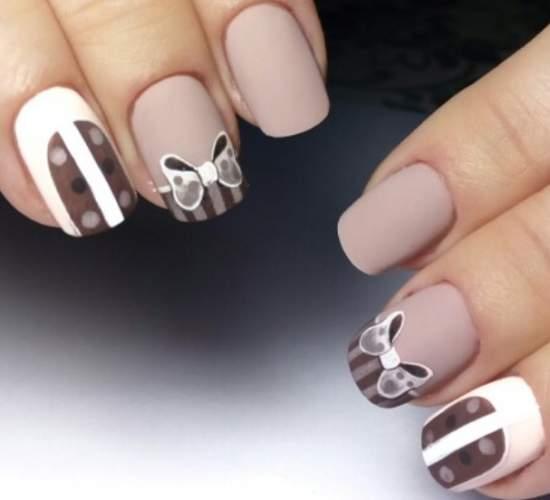 рисунки на ногтях геометрия