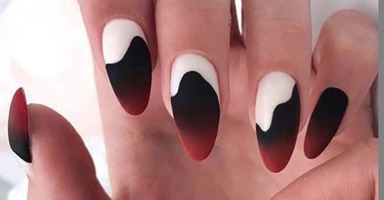 красивые абстрактные ногти