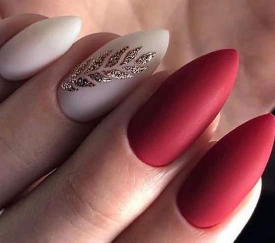 острые нарощенные ногти