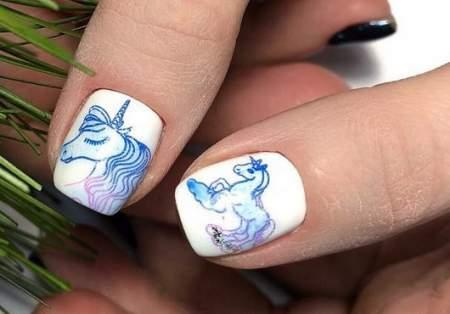 Рисунки на ногтях: создаем неповторимый нейл-арт