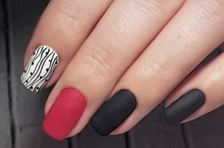 красивый рисунок на ногтях