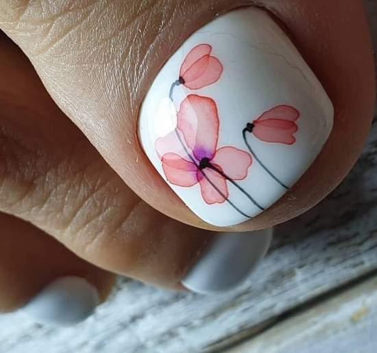 Рисунок с цветами