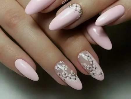 Дизайн ногтей миндалевидной формы: фото лучших идей