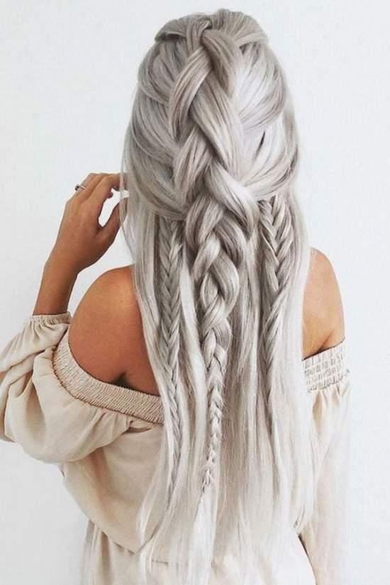Самые быстрые и легкие прически на длинные волосы