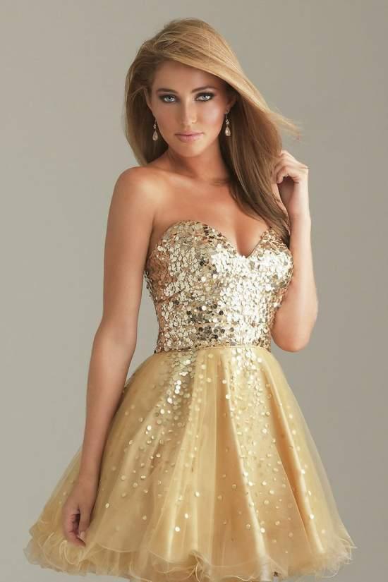 платья на нг 7