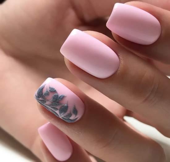 нежно-розовый 1