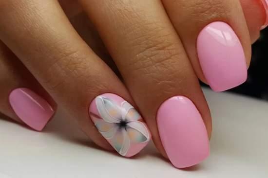 нежно-розовый 10