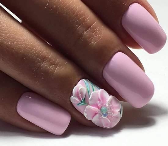 нежно-розовый 11