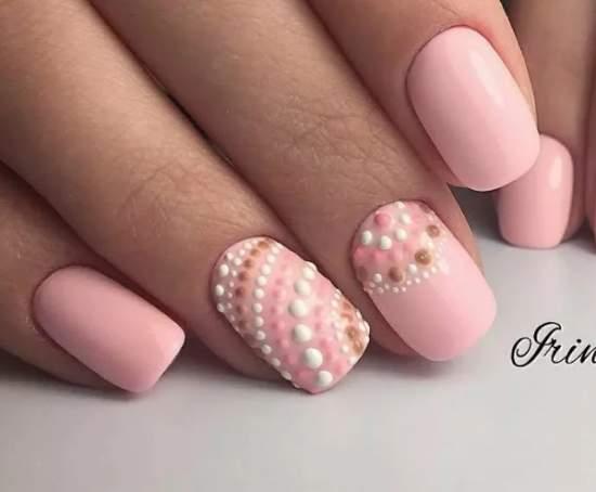 нежно-розовый 14