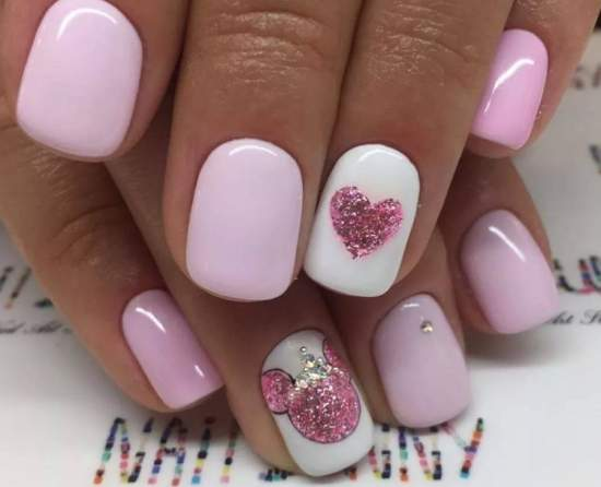 нежно-розовый 17