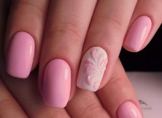 нежно-розовый 2