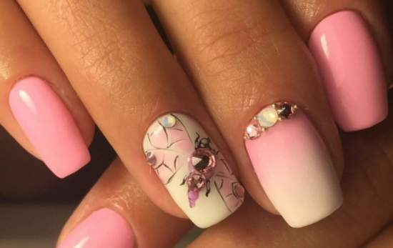 нежно-розовый 30