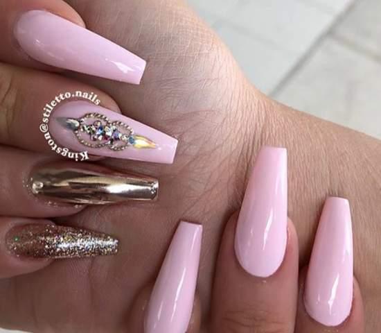 нежно-розовый 35