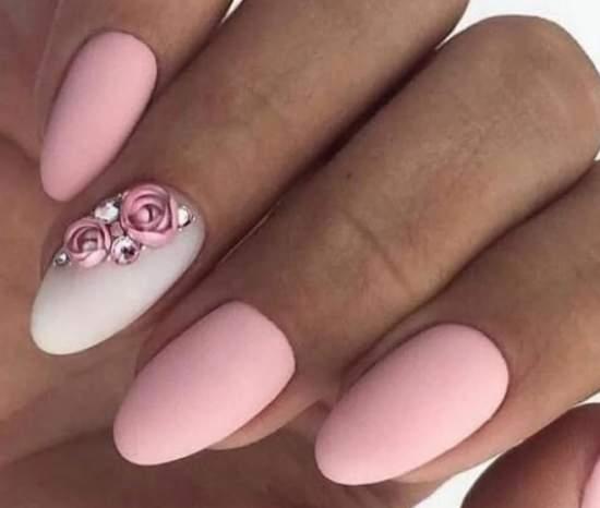 нежно-розовый 52