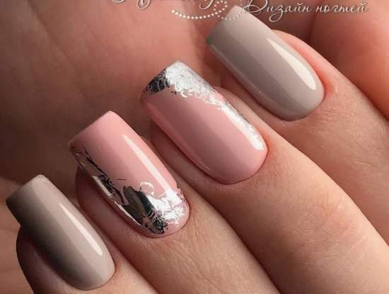 нежно-розовый 55