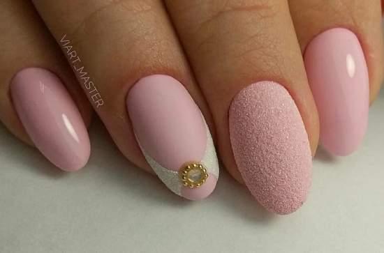 нежно-розовый 9