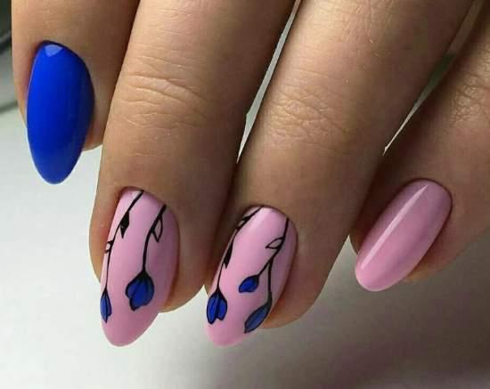 нежно-розовый 91