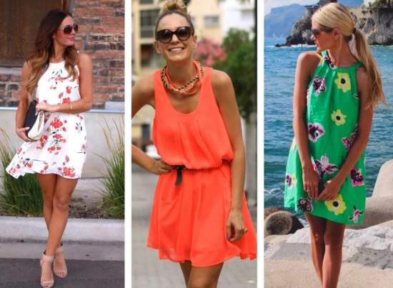 летние платья 11