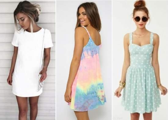 летние платья 13