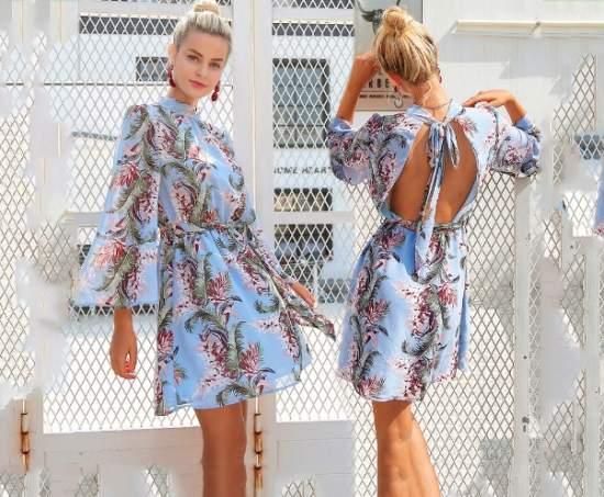 летние платья 28