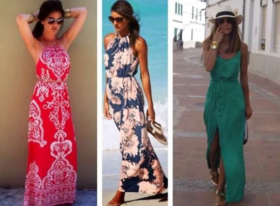 летние платья 32