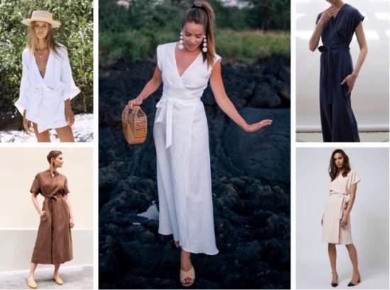 летние платья 34