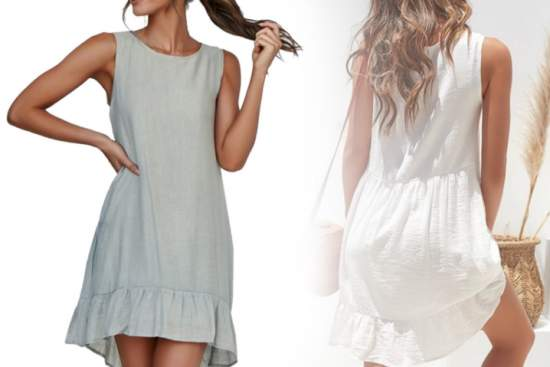 летние платья 36