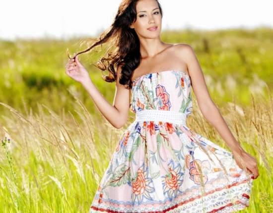 летние платья 46