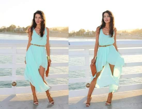 летние платья 48