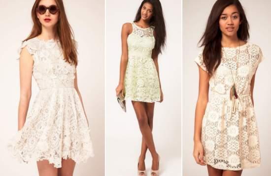 летние платья 70