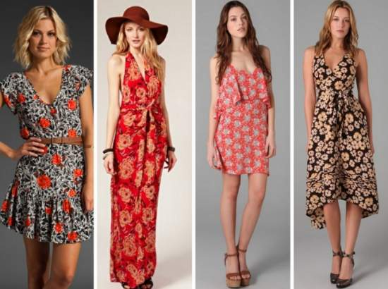 летние платья 72