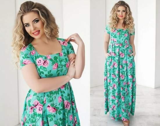 летние платья 75
