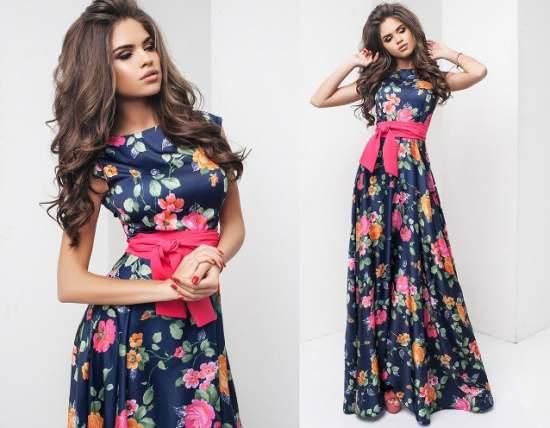 летние платья 76