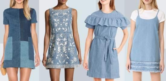 летние платья 80
