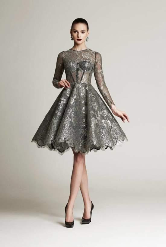 коктейльные платья 7