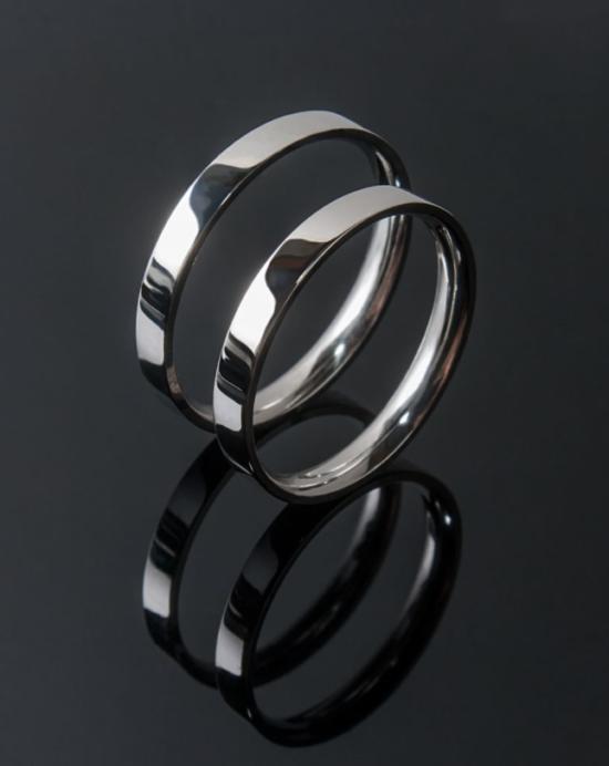 кольца из темного золота