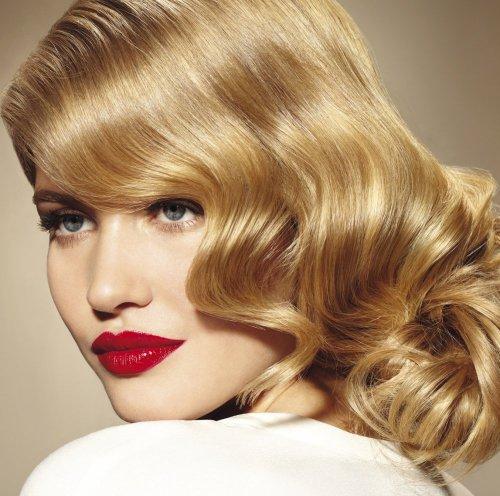 Фото блондинок с челкой на бок