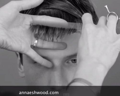 Как подстричь челку мальчику?
