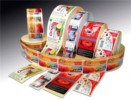 Заказать печать наклеек от компании radiuss.com.ua