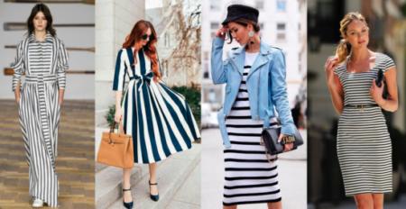 Одежда в полоску – правильный выбор