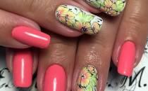 Дизайн ногтей эксклюзивный – фото стильного маникюра.